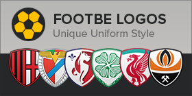 Footbe Logos: Unique uniform style