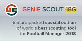 Genie Scout: Feature packed special edition of world's best scouting tool for Football Manager 2018